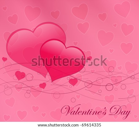 Vector gorgeous valentine background eps10