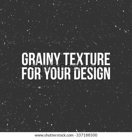 Vector grain Texture. Use in Your Design like a Snow, Dust or Sand - stock vector