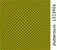 vector graphic depicting op art/pop art checkerboard pattern background - stock vector