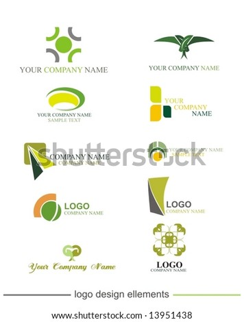 vector graphic  elements  collection - stock vector