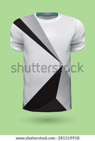 Vector graphic t-shirt design / Print design - stock vector