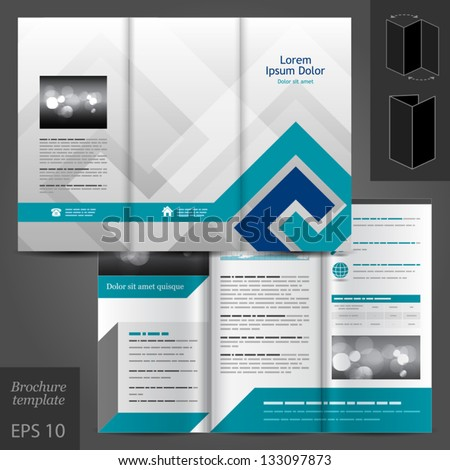 Brochure Layout Design Stock Images RoyaltyFree Images Vectors - Brochure template ideas