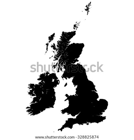 Vector Great Britain Pictogram - stock vector