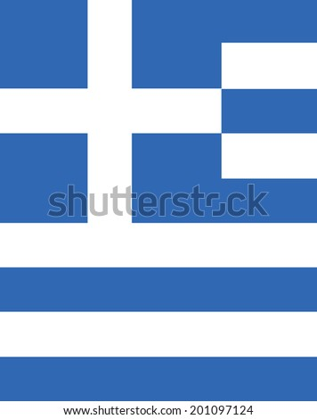 Vector Greece Wallpaper and Backdrop  - stock vector