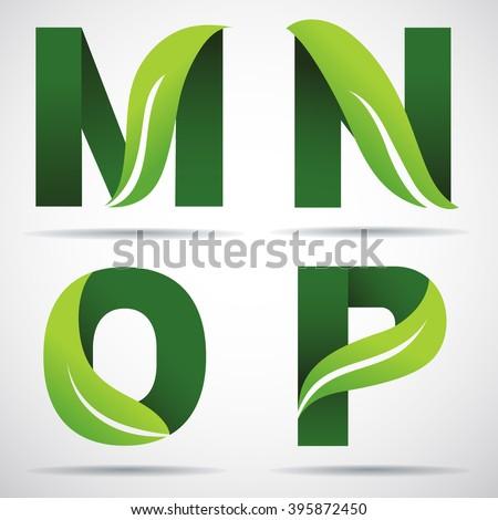 leaf letters stock images royaltyfree images amp vectors