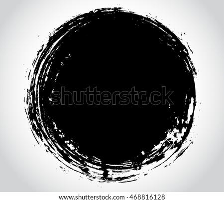 of vector grunge circle - photo #44