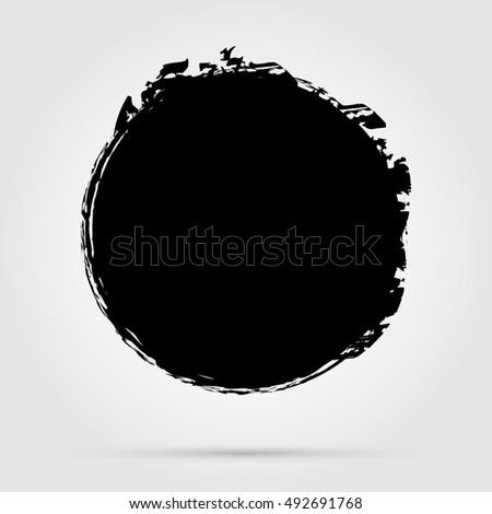 of vector grunge circle - photo #15