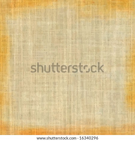 Vector Grunge Fabric, See Bitmap Also In My Portfolio - stock vector