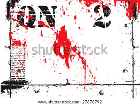 vector grunge typographic background