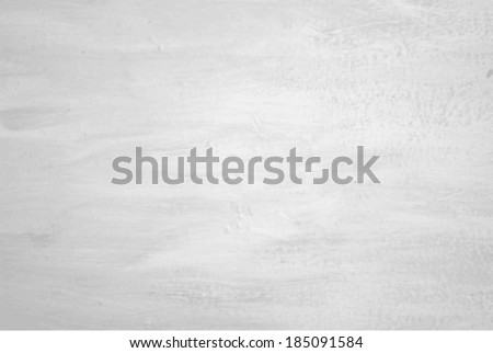 Vector Grungy White Concrete Wall Background - stock vector