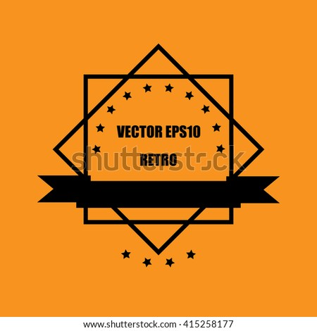 vector guarantee Tag label retro vintage style