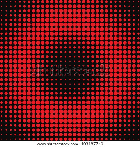 Vector halftone dots. Abstract dots vector background