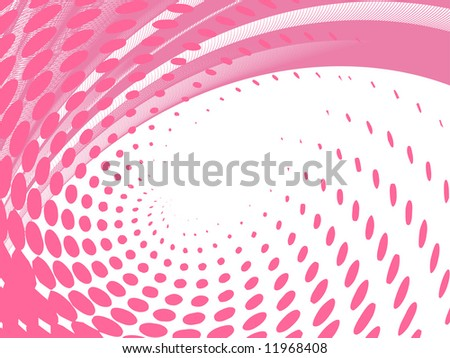vector halftone effect, without gradient, place for text - stock vector