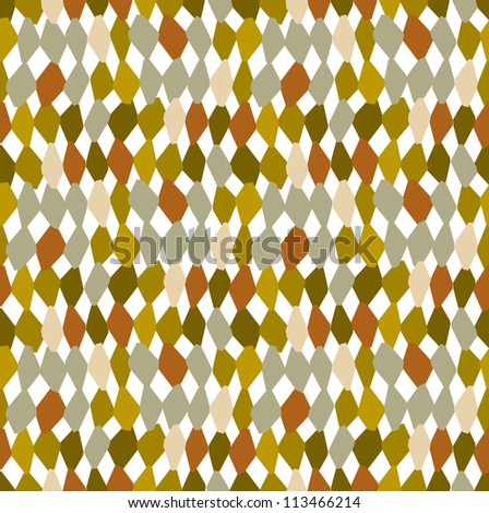 Vector Hand Drawn Abstract Organic Woven Texture Background Wallpaper - stock vector
