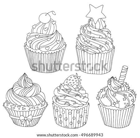 Kleurplaat Pompom Kerst Kleurplaat Lege Cupcake Kleurplaat Lege Cupcake Kleurplaat
