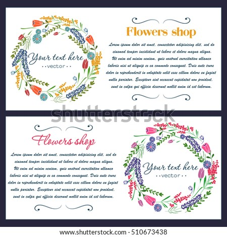 Vector hand drawn  elements for labels, logos and badges for health care,florist, photography, wedding,flower shop, cosmetics, spa and wellness, beauty salon