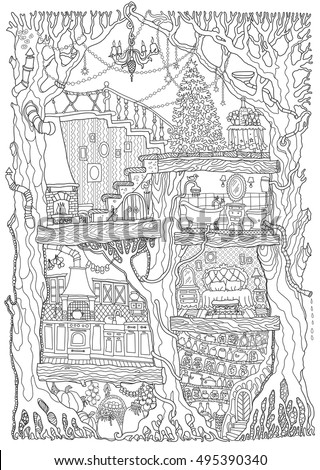 Fairy Tale Book Cover Stock Images Royalty Free Images
