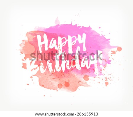 Happy Birthday Banner Images RoyaltyFree Images Vectors – Happy Birthday Text Card
