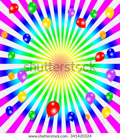 Vector happy colorful background, eps10 vector illustration - stock vector