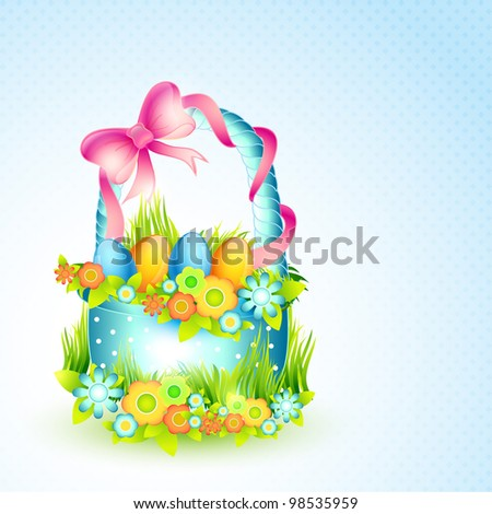 vector happy easter colorful illustration