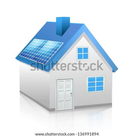 Vector home - stock vector