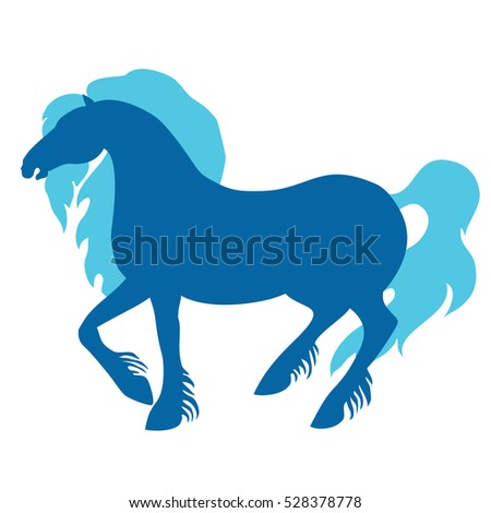 vector horse illustration