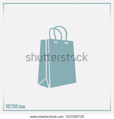 Vector icon bag
