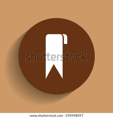 vector icon- brown
