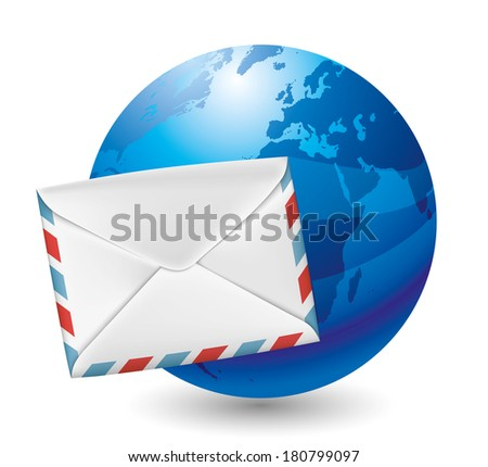 Vector icon. Mail.