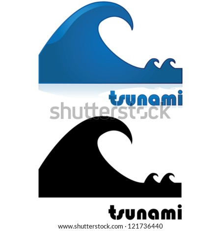 Tsunami Icon Stock Photos, Images, & Pictures | Shutterstock