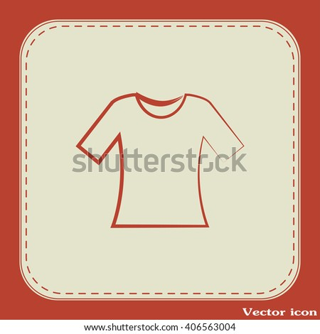 Vector icon T-shirt