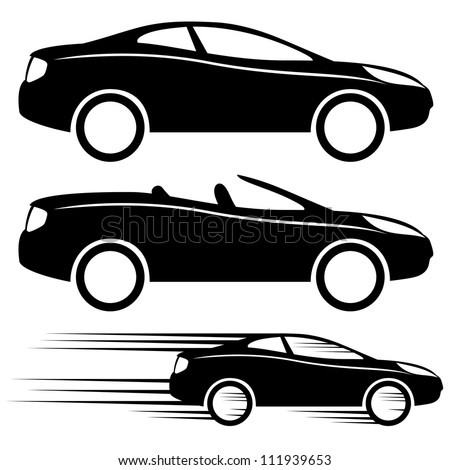 vector 3 icons cars stock vector 111939653 shutterstock rh shutterstock com electric car icon vector free car vector icon png