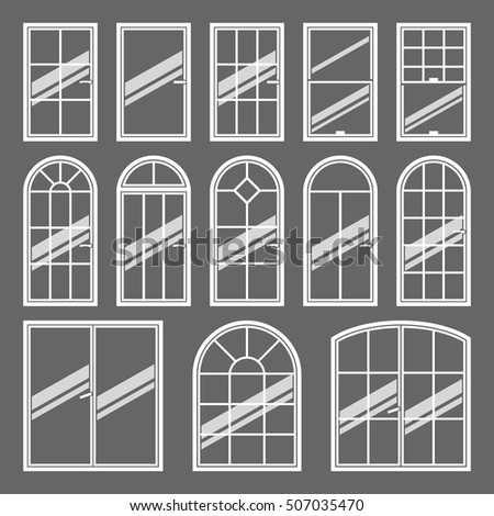 Types of arch stock images royalty free images vectors for Types of window shapes