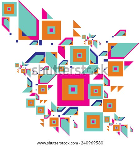 vector illustration abstract background pattern - stock vector