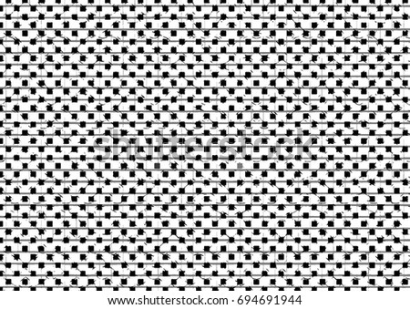 Vector illustration, abstract halftone backdrop in white and black tones in newsprint style, monochrome background for business cards, website, postcards, interior design, labels and stickers