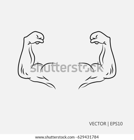 Female Strong Arms Coloring Coloring Pages