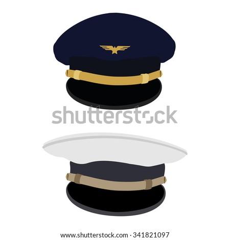 Pilot Captain Stock Images, Royalty-Free Images & Vectors ... Captain Hat Vector