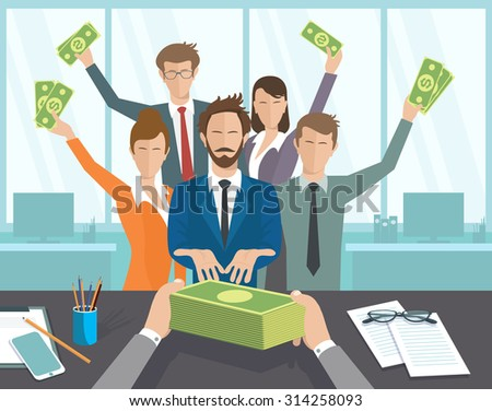 Salary stock images royalty free images vectors shutterstock - Average salary of an office manager ...