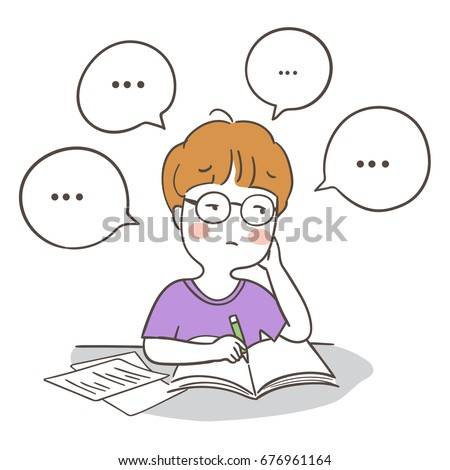 Student Cartoon Stock Images Royalty Free Images