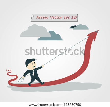 Vector Illustration - Cooperation Concept