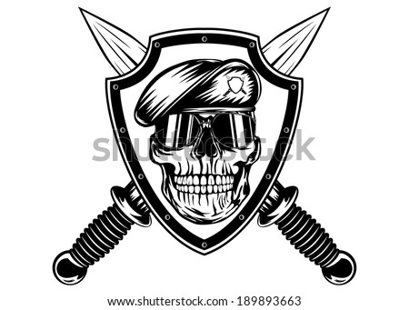Skull Military Stock Images Royalty Free Images Amp Vectors