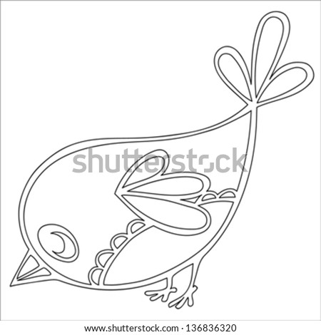 Simple Bird Outline Stock Images, Royalty-Free Images ...