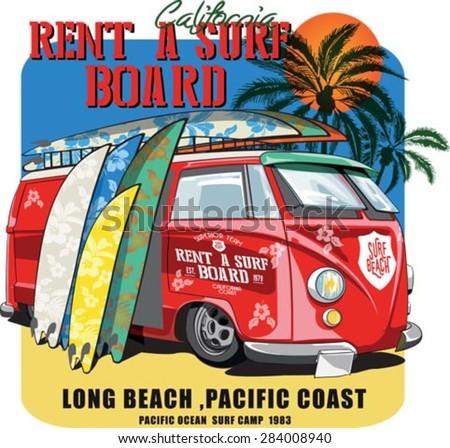 vector illustration drawing. pacific surf wave. summer tropical heat print. surf print vector set,wave illustration.surf wave silhouette, surf wave silhouette vector - stock vector