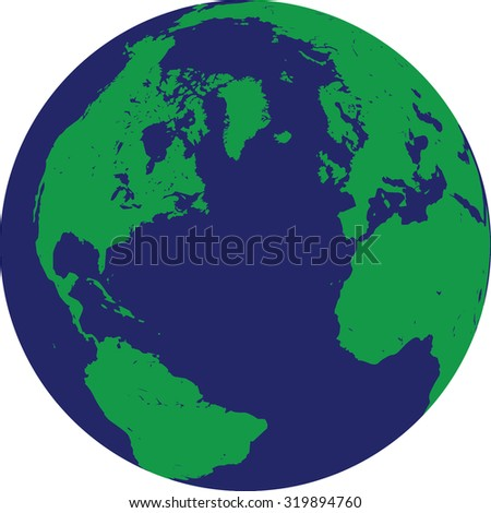 Vector Illustration Earth