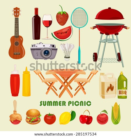 Picnic Items Stock Photos, Images, & Pictures | Shutterstock