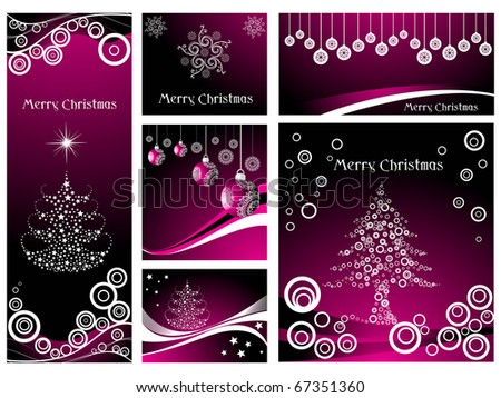 vector illustration for merry christmas celebration - stock vector