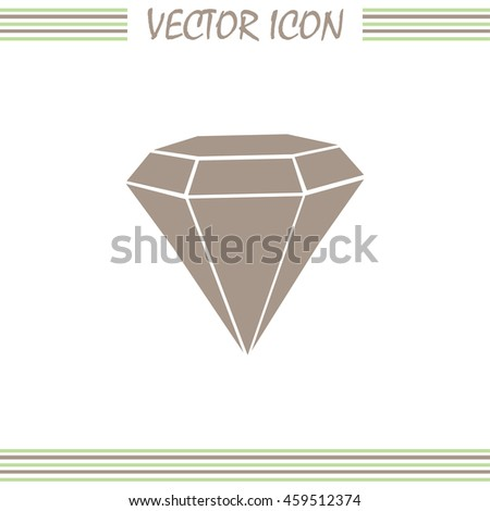Vector illustration gemstone