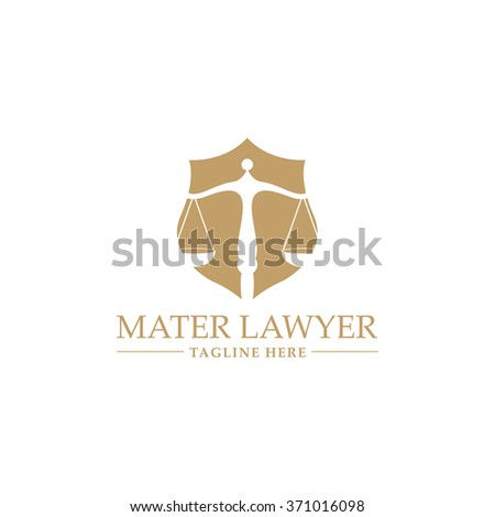 Vector Illustration : Law office logo collection