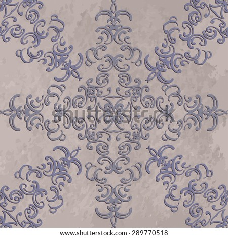 Vector illustration. luxury texture for wallpapers, fabric patterns. seamless floral pattern.