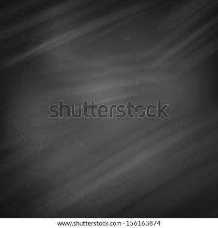Vector Illustration of a Blackboard Background - stock vector